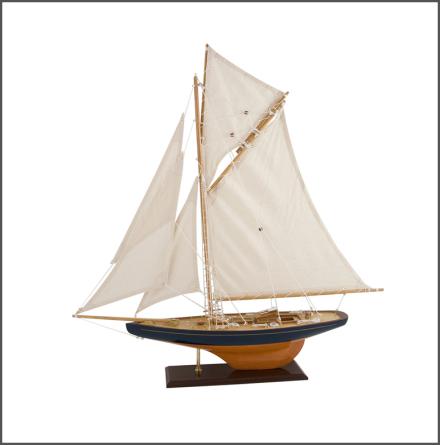 Segelbåt Columbia 79 blå