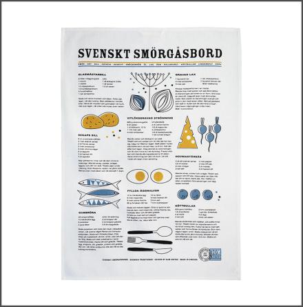Handduk Svenskt Smörgåsbord