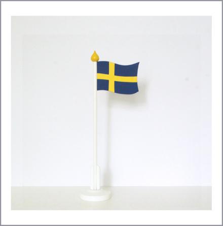 Bordsflagga Svensk liten