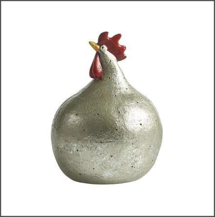 Höna Silver 13 cm
